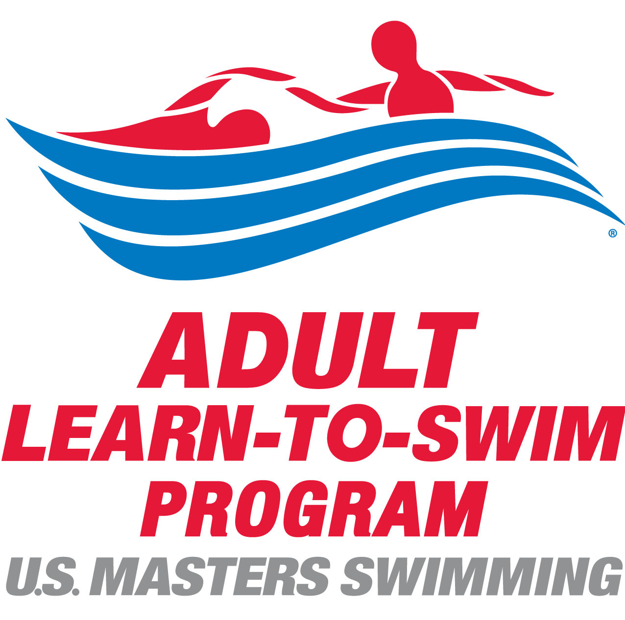 Adult Learn-To-Swim Logo Color