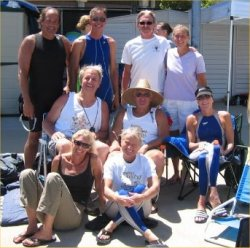 Swimmers gather at the 2008 Long Course Nationals