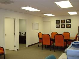 "The space is app. 700 square feet and includes a front ""conference room"" and two separate offices"