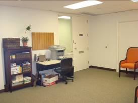 "Two additional ""work spaces"" are located in the conference room"