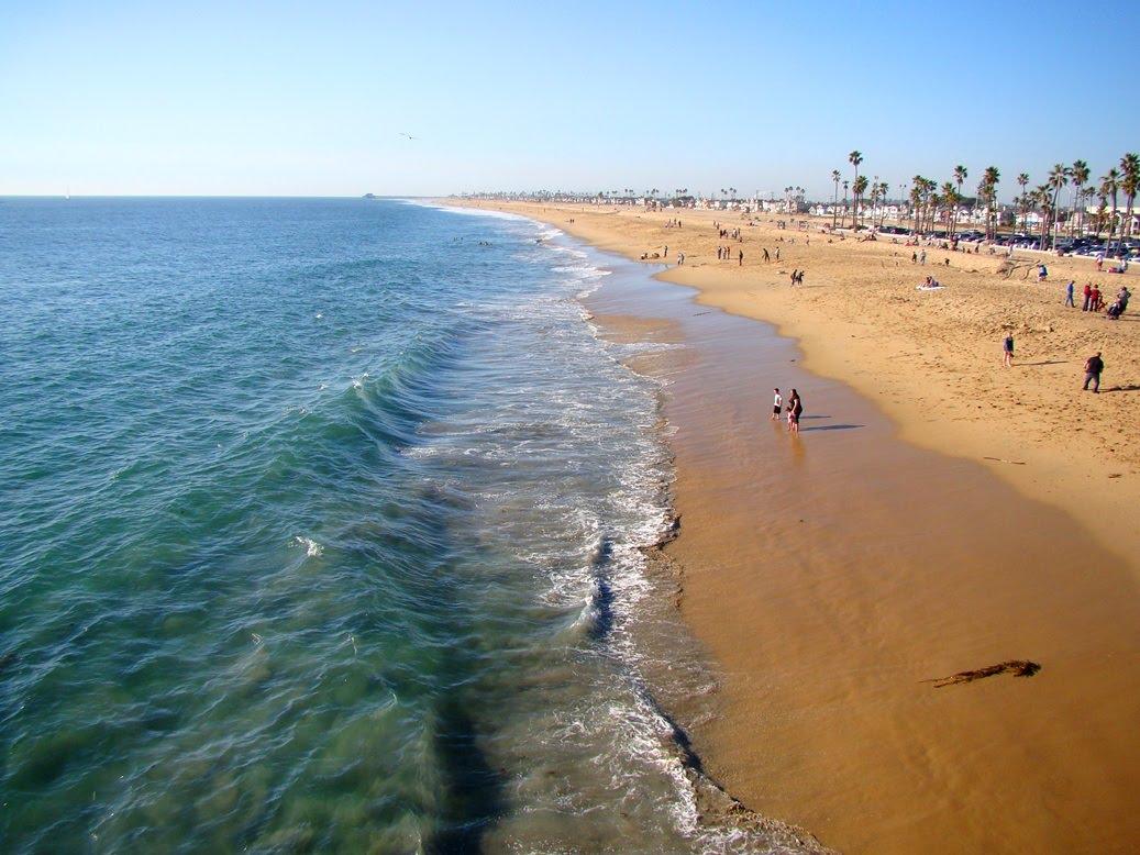 Description Two Mile Open Water Swim In The Pacific Ocean From Balboa Pier To Newport Beautiful Beach California