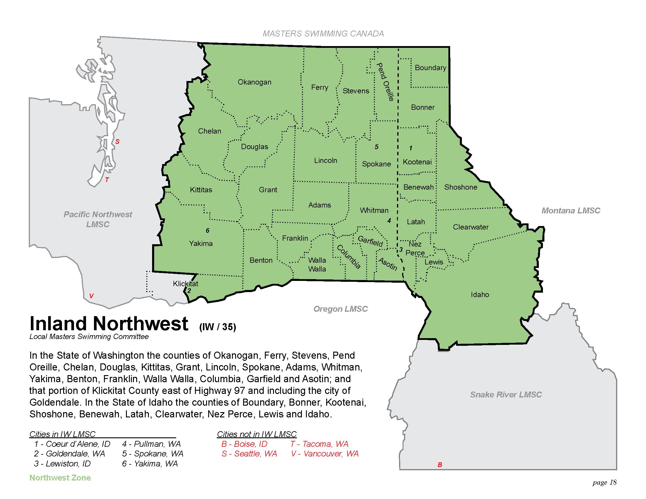 Geographic Region In The State Of Washington The Counties Of Okanogan Chelan Douglas Ferry Stevens Spokane Lincoln Grant Kitas Asotin