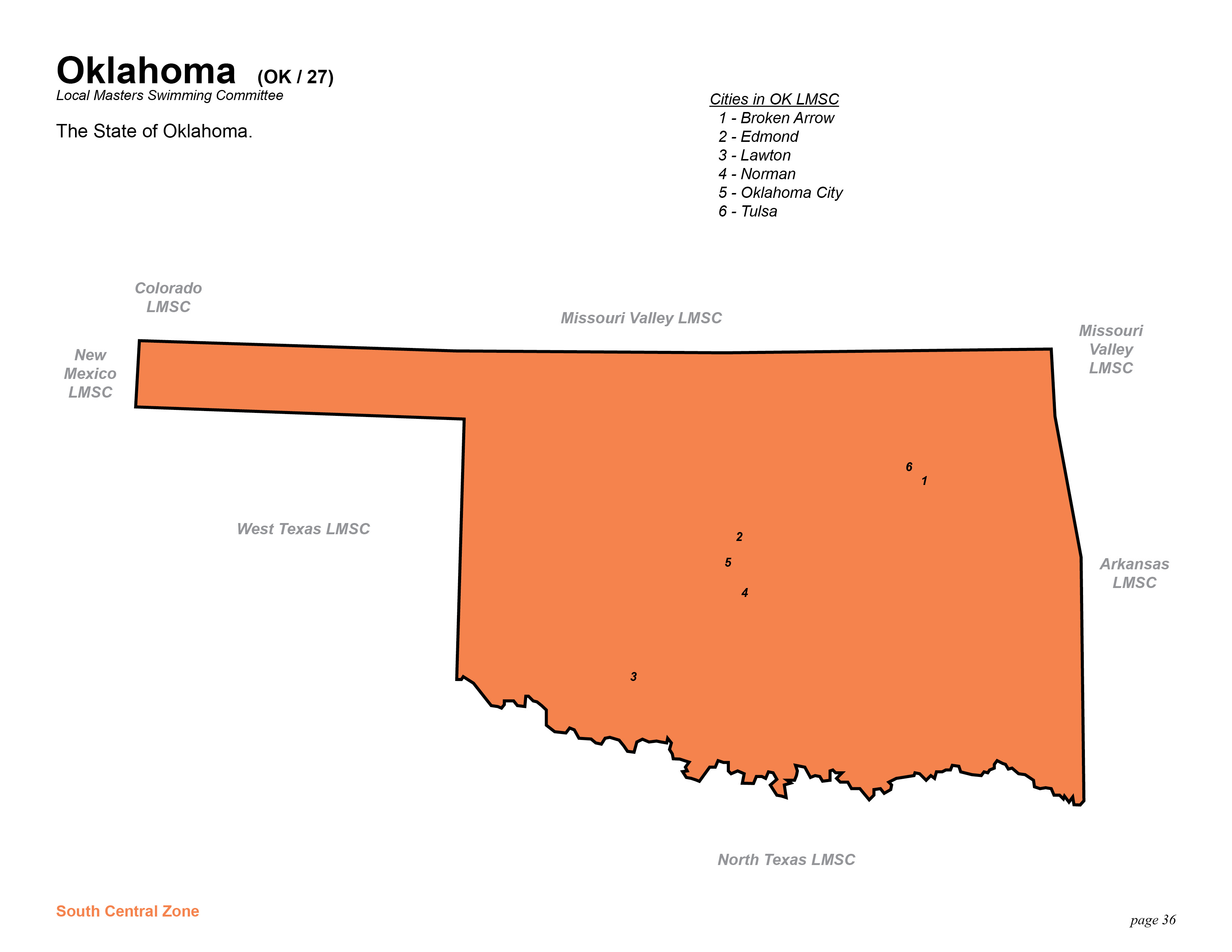 Help with oklahoma history; ten geographic regions?
