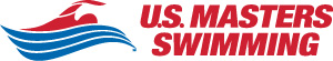 U.S. Masters Swimming Horizontal Logo