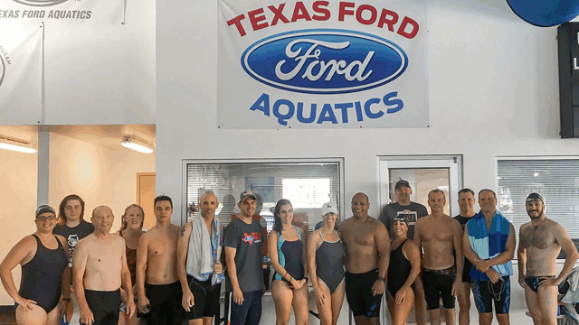 Pace Clock Profiles Texas Ford Aquatic Masters