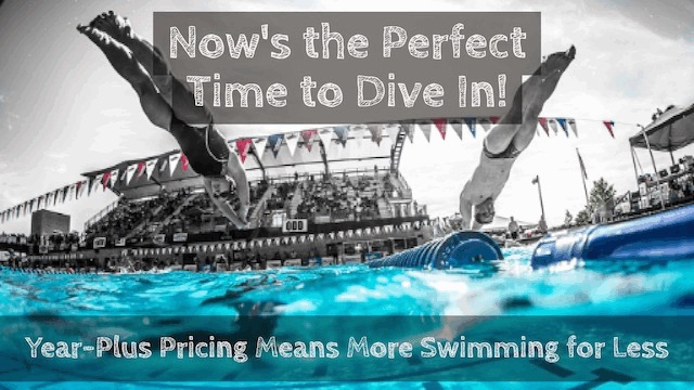 Now's the Perfect Time to Become a USMS Member! Image