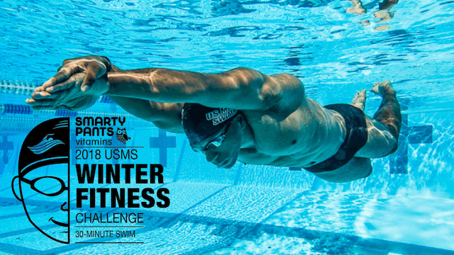 2018 SmartyPants Vitamins USMS Winter Fitness Challenge Image