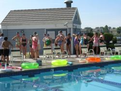 Thornton Masters swimmers in Colorado prepare for Booty for Bosoms Relays