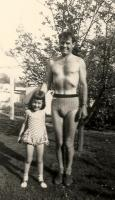 Lyra Halprin and her father