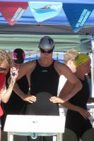 Lisa Rice Greedy prepares for her 100 free at 2011 Spring Nationals