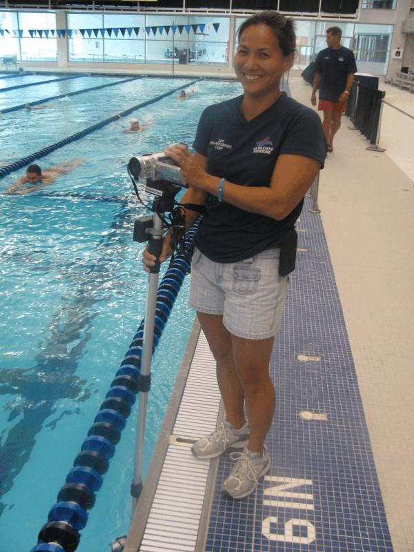 Coach Nadine Day at the 2011 USMS High Performance Camp