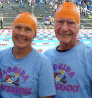 Paul and Margie Hutinger at the 2008 Long Course Nationals