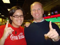 Kari Lawerence and Jay White, Olympic Trials 2008