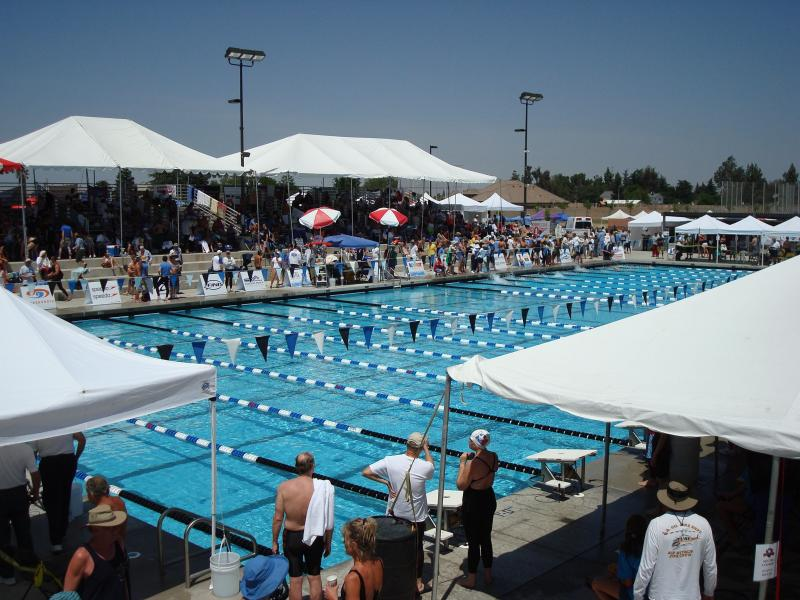 Competition pools at the 2009 SC Nationals in Clovis, CA