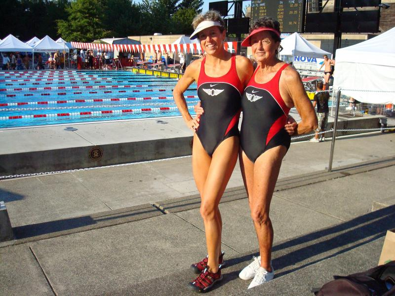 Margery and Marguerite Meyer at LC Nationals 2009