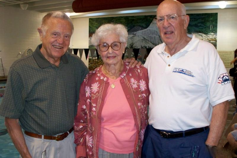 Dick Webber, Mary Chalmers and Jim Scherbarth