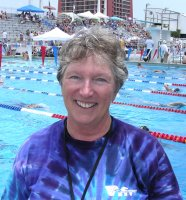 Betsy Durrant at the 2005 Short Course Nationals